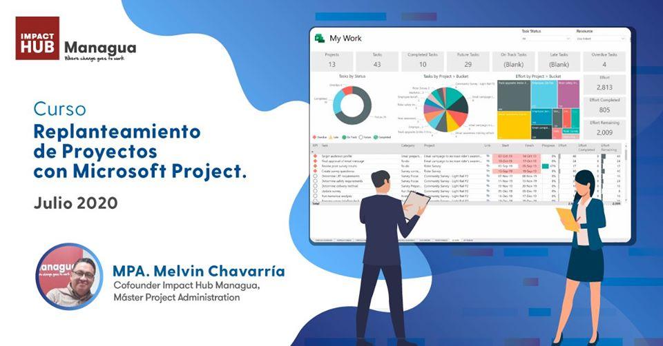 Lee más sobre el artículo Curso: Replanteamiento de Proyectos con Microsoft Project