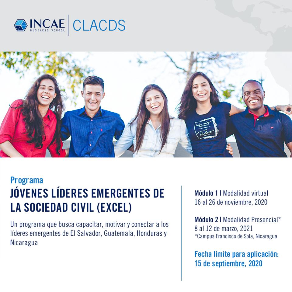 Read more about the article Programa Jóvenes Líderes Emergentes de la Sociedad Civil.