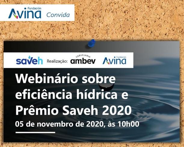 Webinar sobre Eficiencia Hídrica – Premio Saveh 2020.