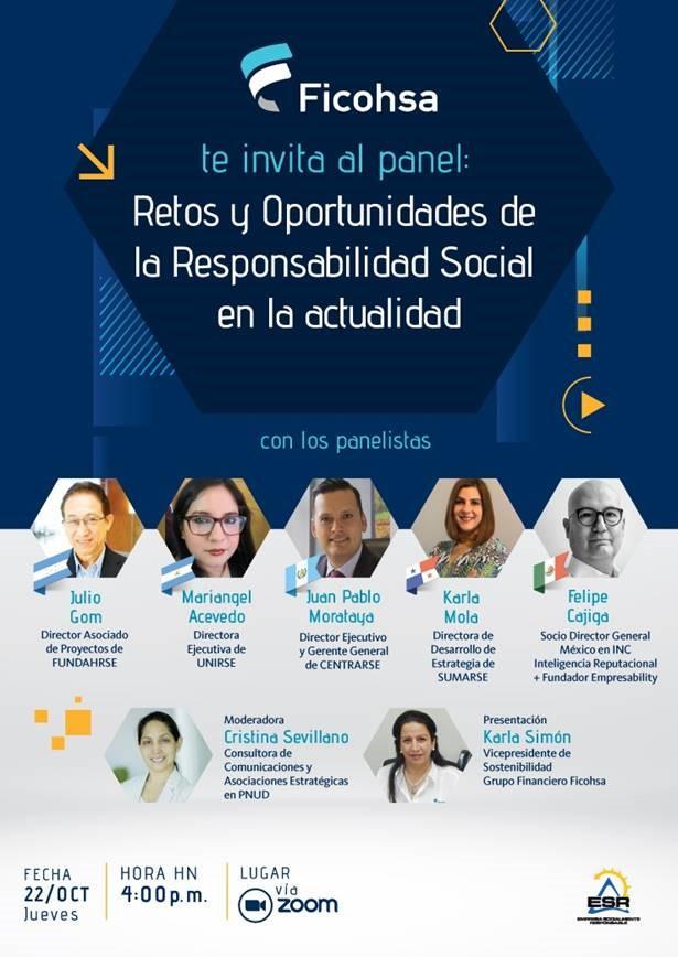"""Read more about the article Panel """"Retos y Oportunidades de la Responsabilidad Social en la actualidad"""""""