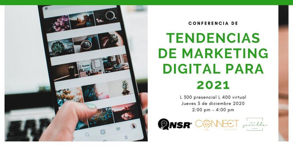 Conferencia Tendencias del Marketing 2021