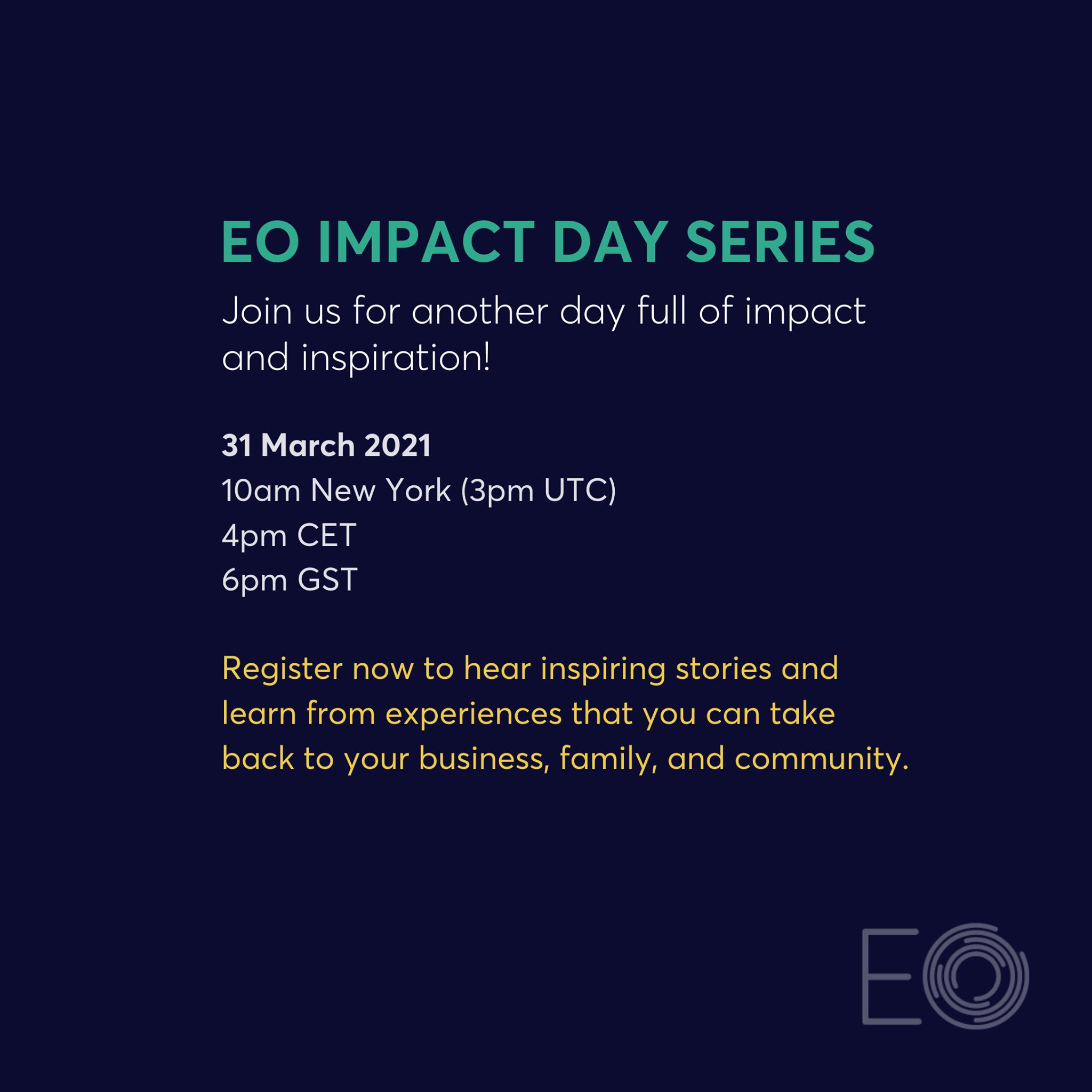 """Read more about the article Día del Impacto de la OE: """"Una inmersión profunda con líderes sostenibles"""" ."""