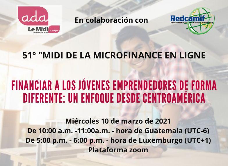 Read more about the article 51º Midi de la microfinance en ligne