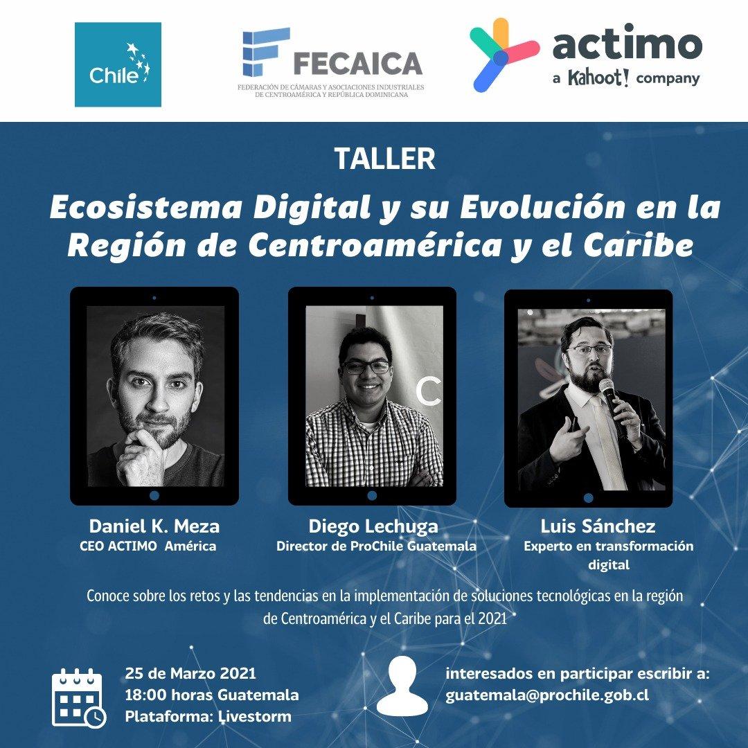 """Read more about the article """"Ecosistema Digital y su evolución en la Región de Centroamérica y el Caribe""""."""